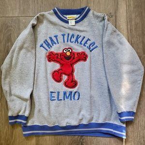 Sesame street TICKLE ME ELMO sweatshirt